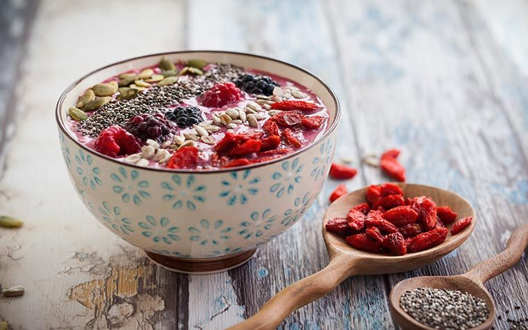 delicious smoothie bowl