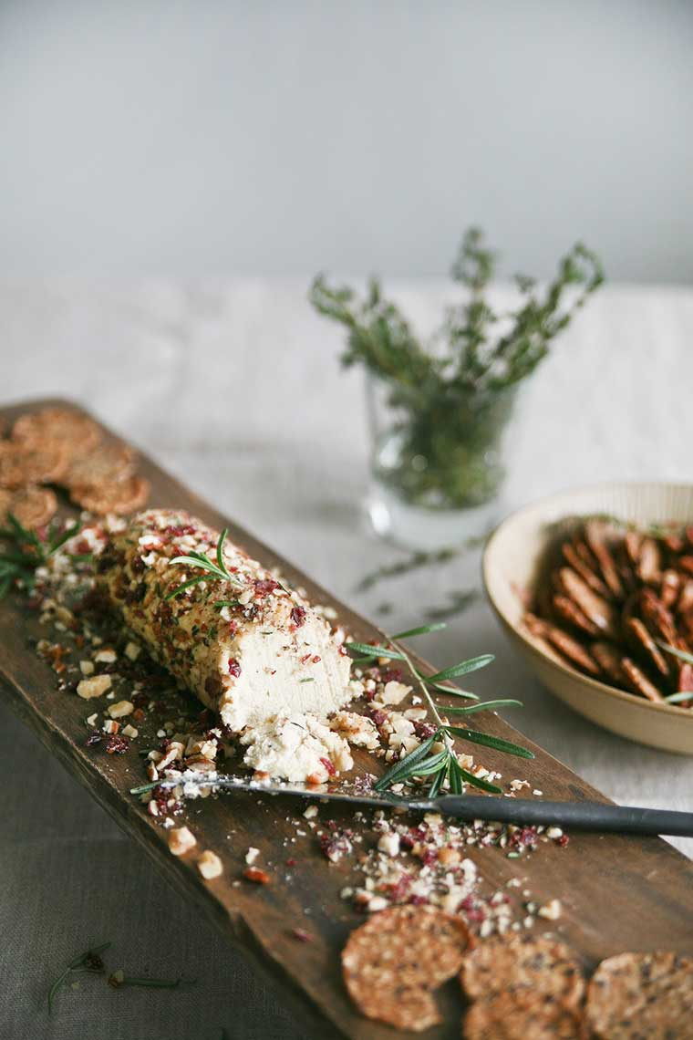 Vegan Thanksgiving Recipe Nut Cheese