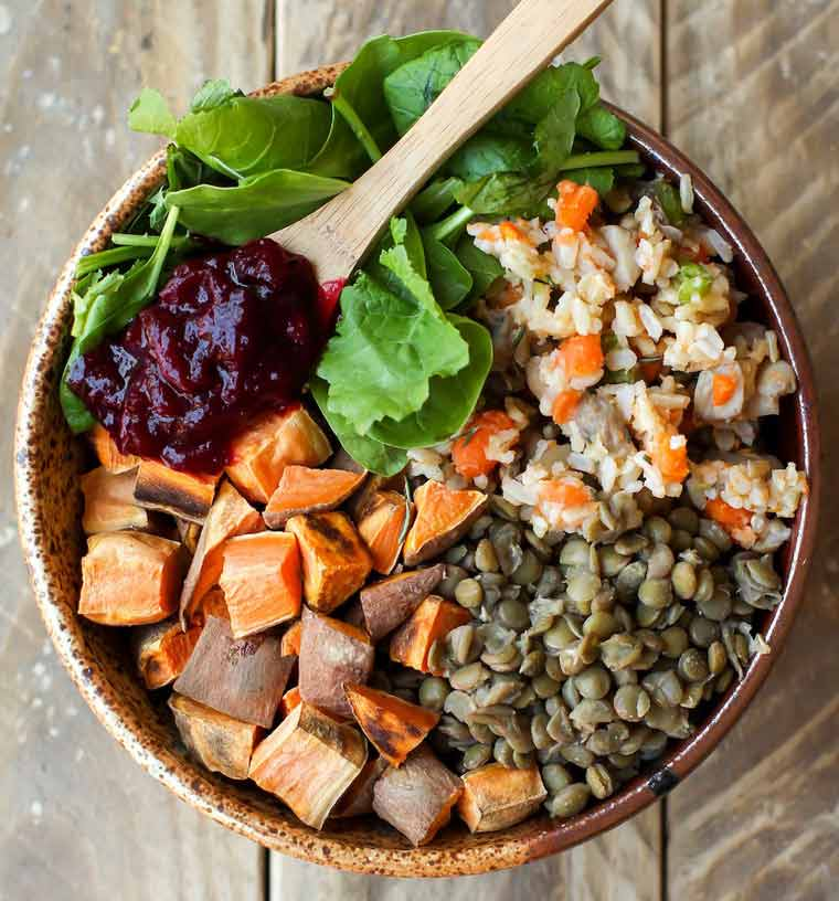Vegan Thanksgiving Recipe Bowl