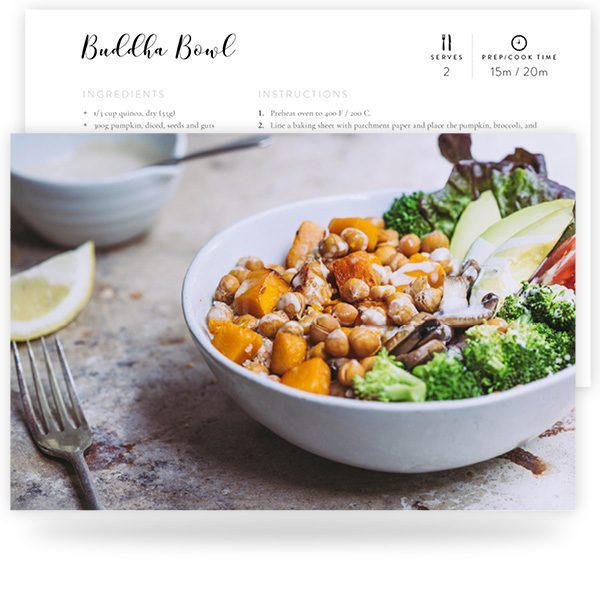Healthy & Delicious Vegan Recipes Sample Pages