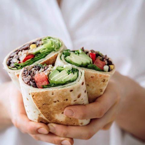 Vegan Bean Burritos