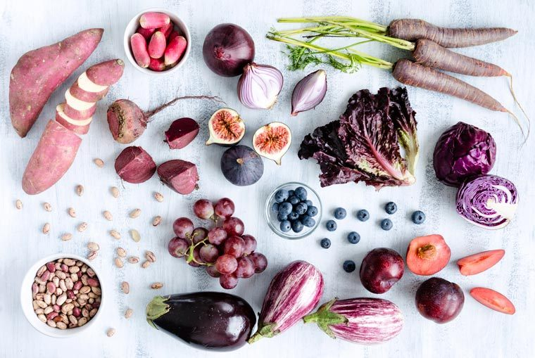 purple plant foods for meal planning
