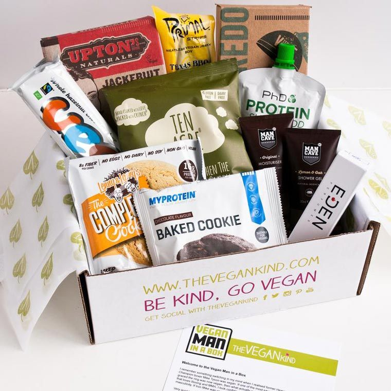 The Vegan Kind Snack Subscription Box