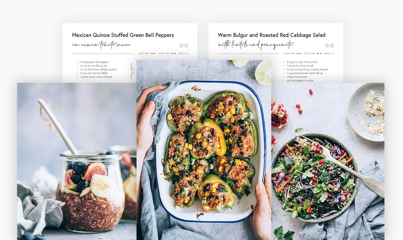 Live Lightly Recipes Excerpt