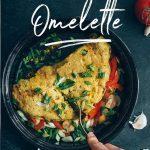 Vegan Chickpea Omelette Pin