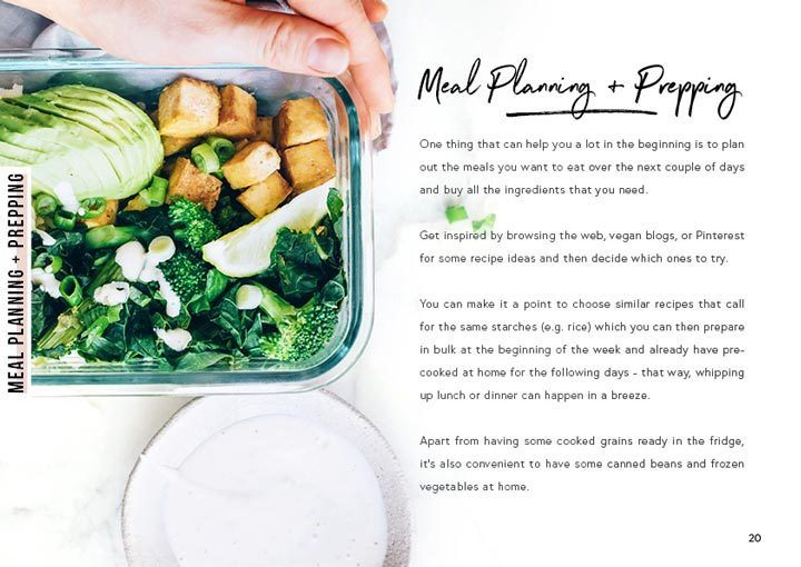 snippet of the week of bowls vegan meal plan eBook by nutriciously