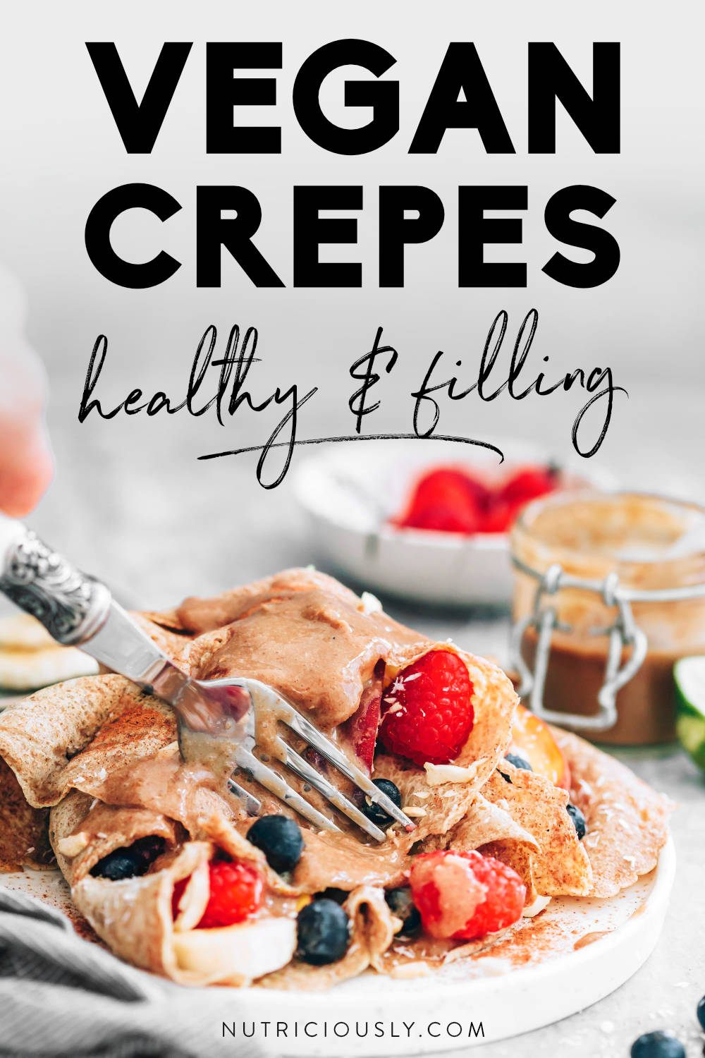 Vegan Crepes Pin 1