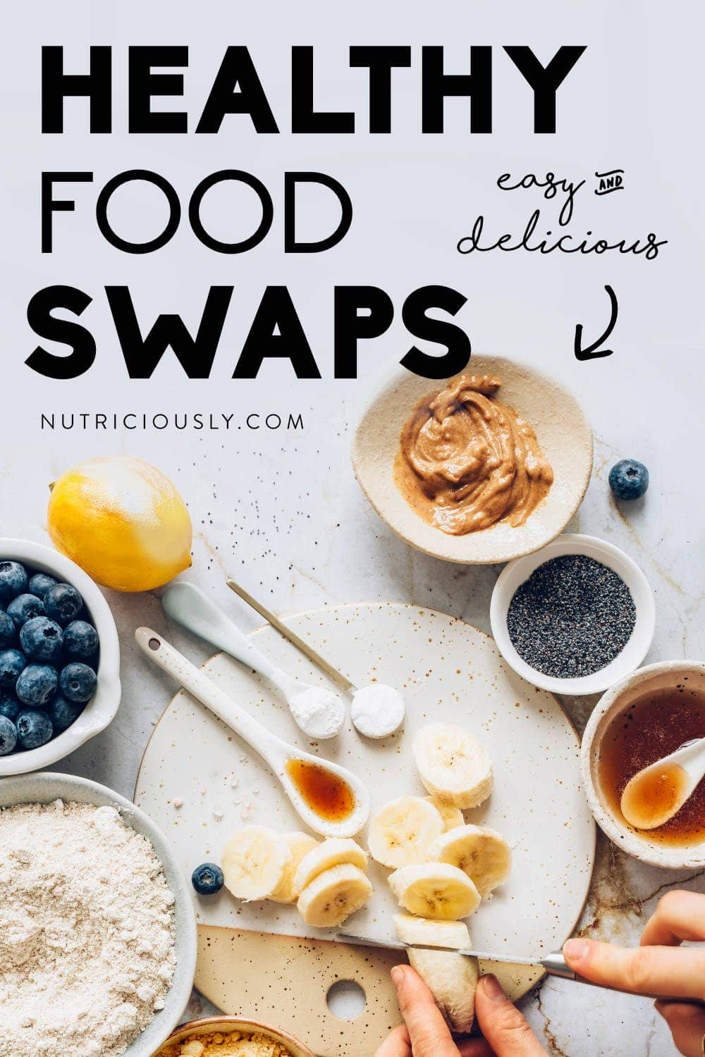 Food Swaps Pin