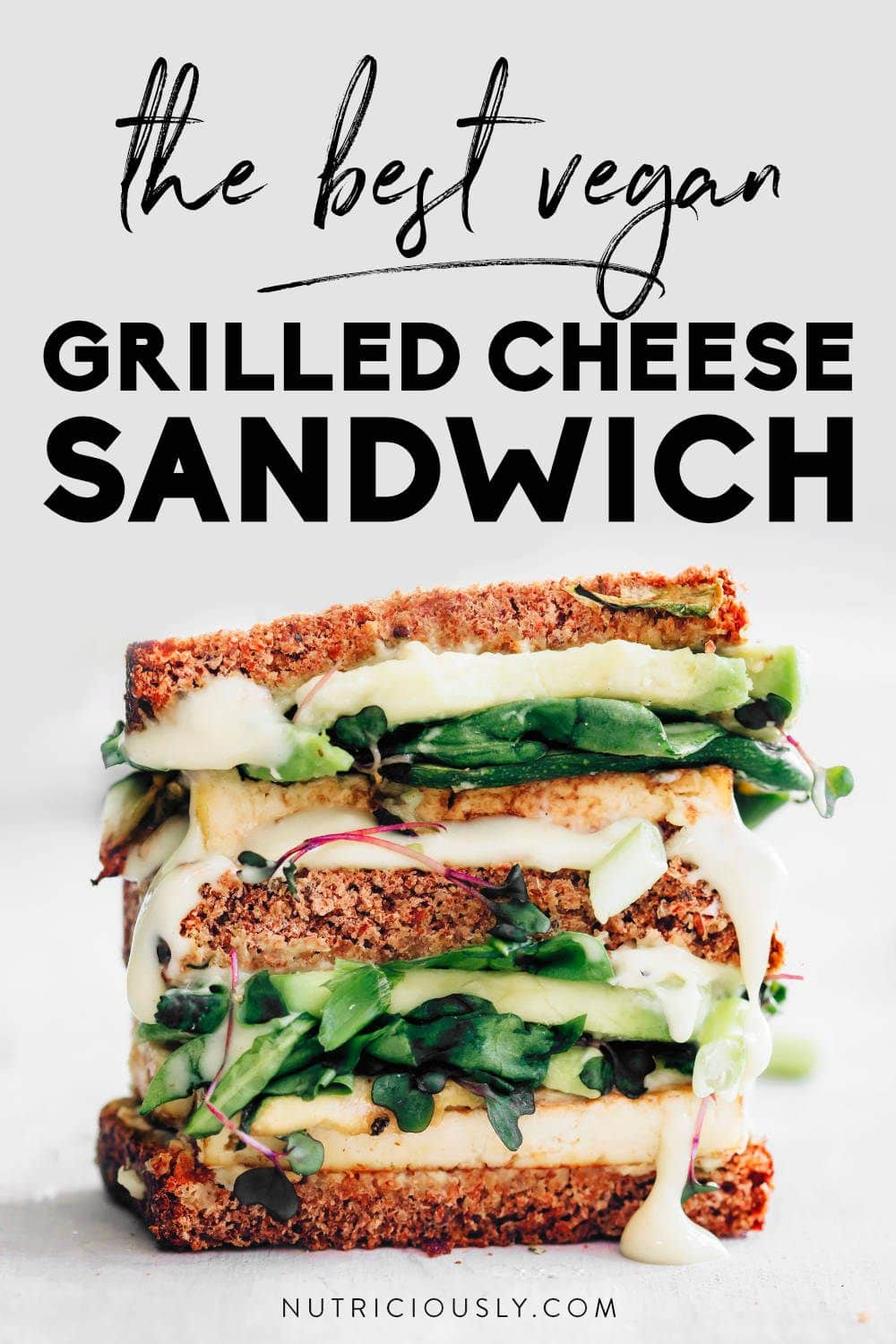 Vegan Grilled Cheese Sandwich Pin