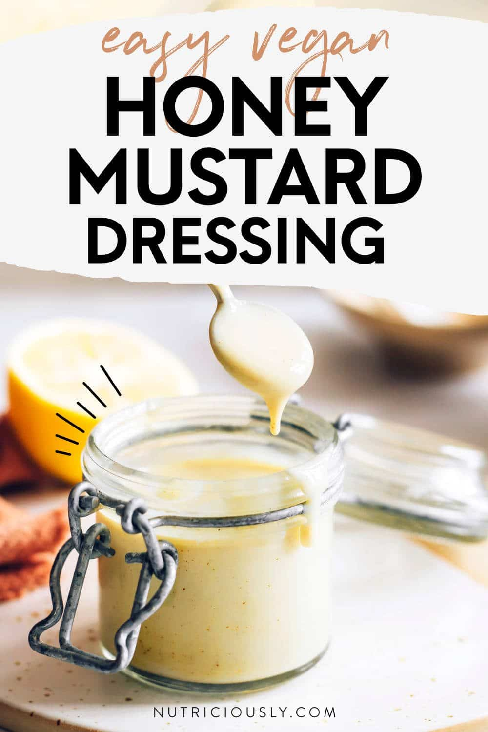 Vegan Honey Mustard Pin