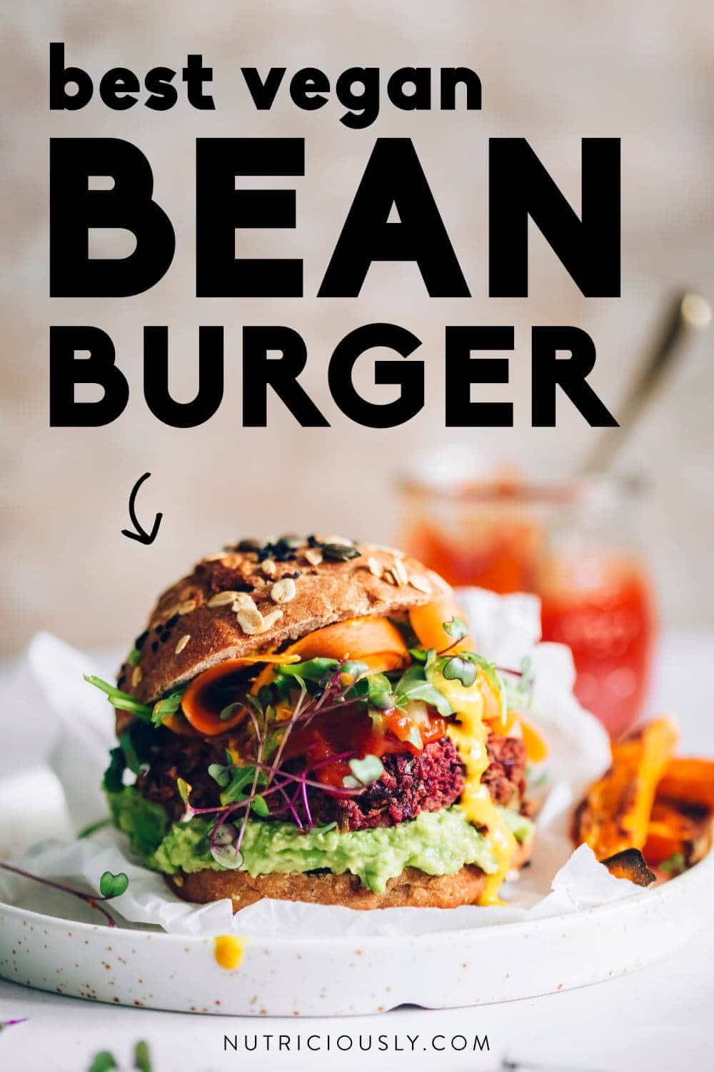 Kidney Bean Burger Pin