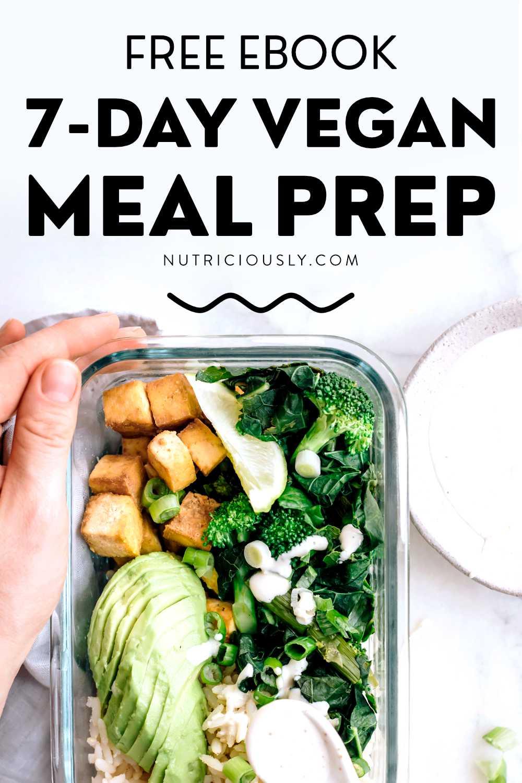 Vegan Meal Prep Pin