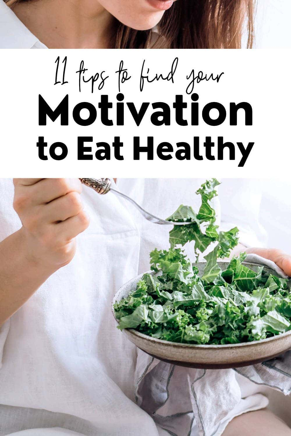 Motivation Healthy Eating Pin