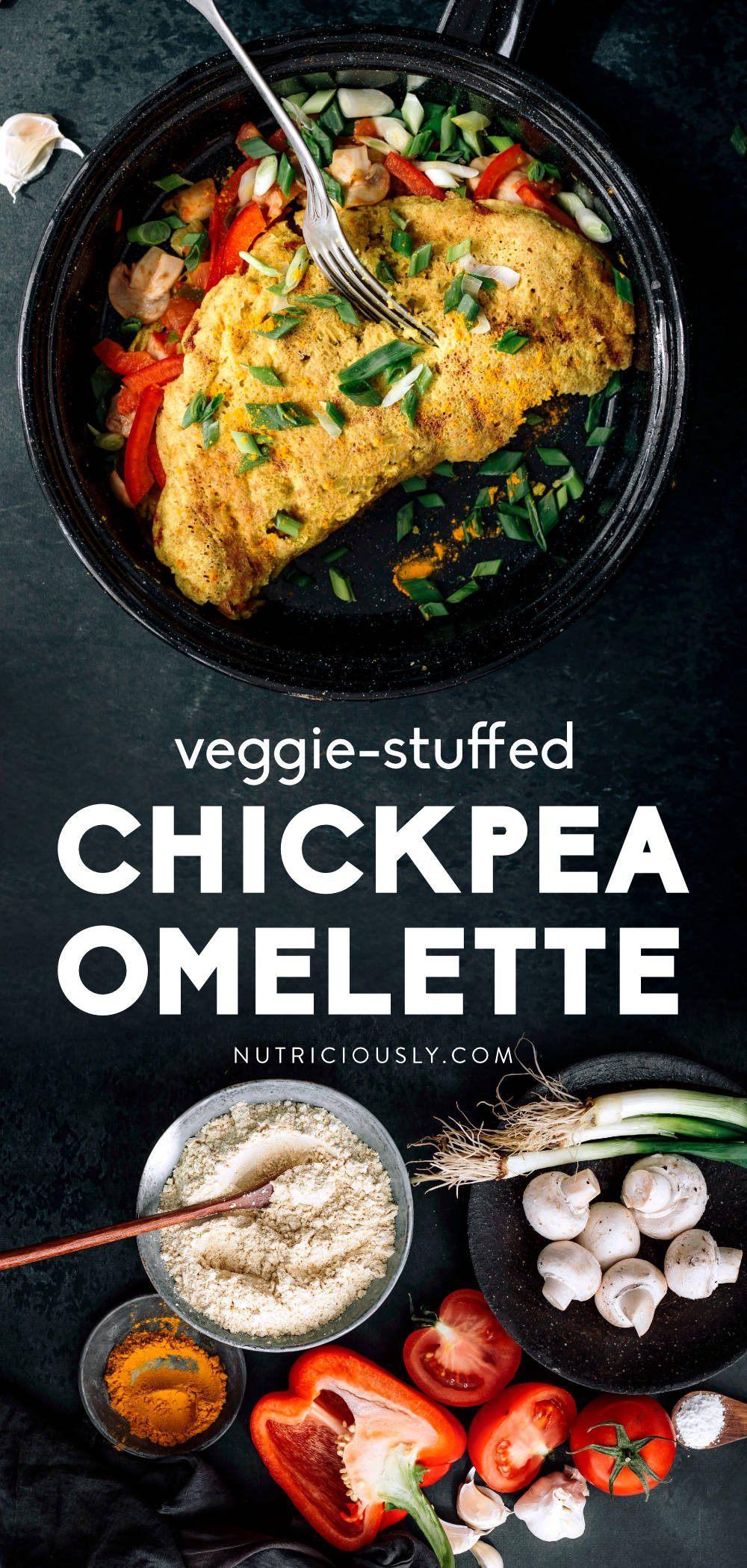 Vegan Omelette Pin