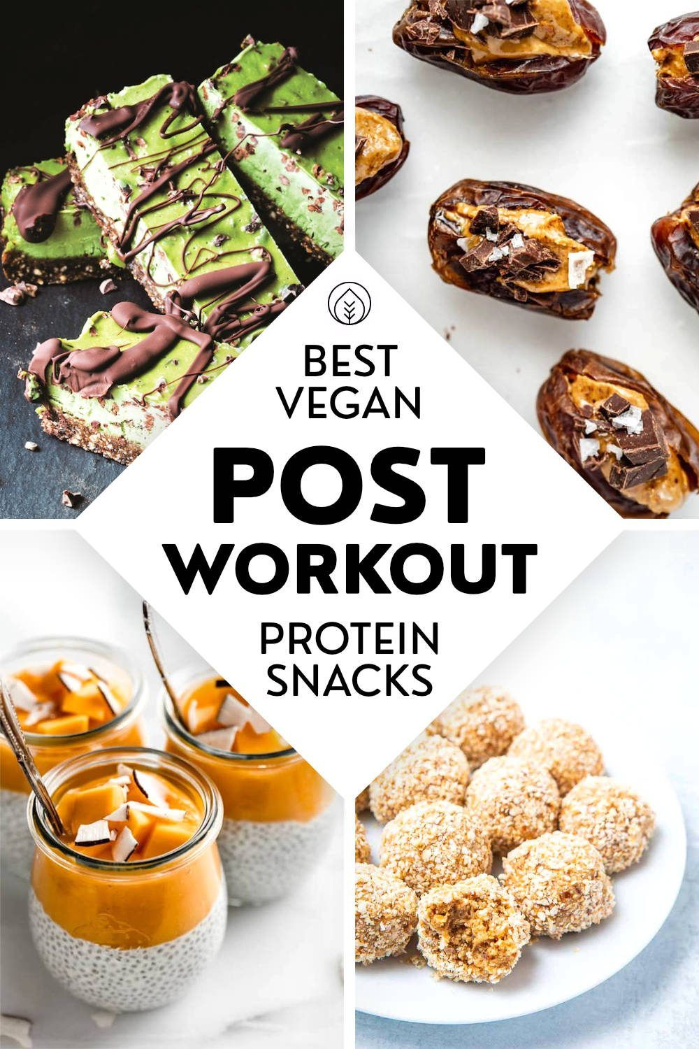 Post Workout Protein Snacks Pin