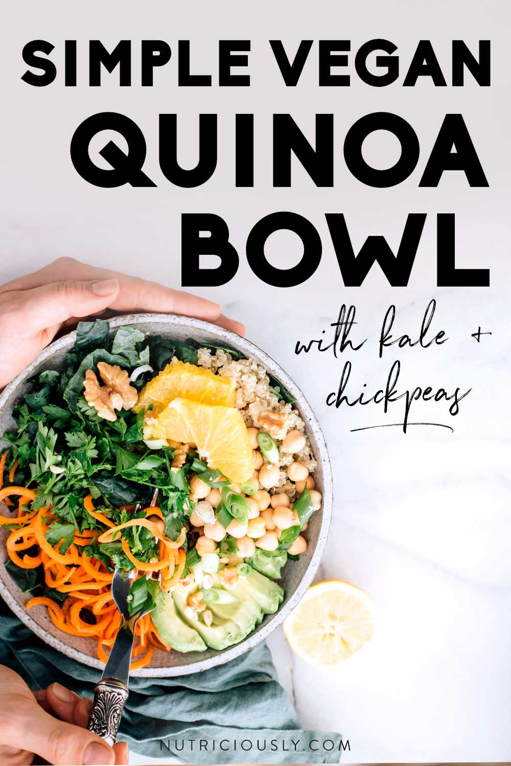 Quinoa Veggie Bowl Pin
