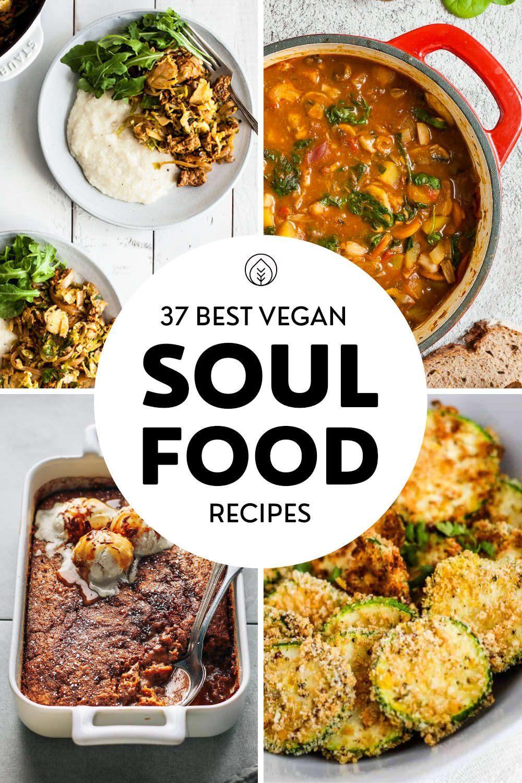 Vegan Soul Food Pin