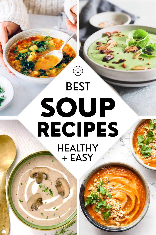 Vegan Soup Recipes Pin