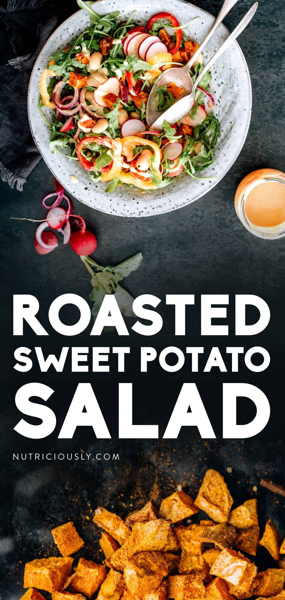 Sweet Potato Salad Pin