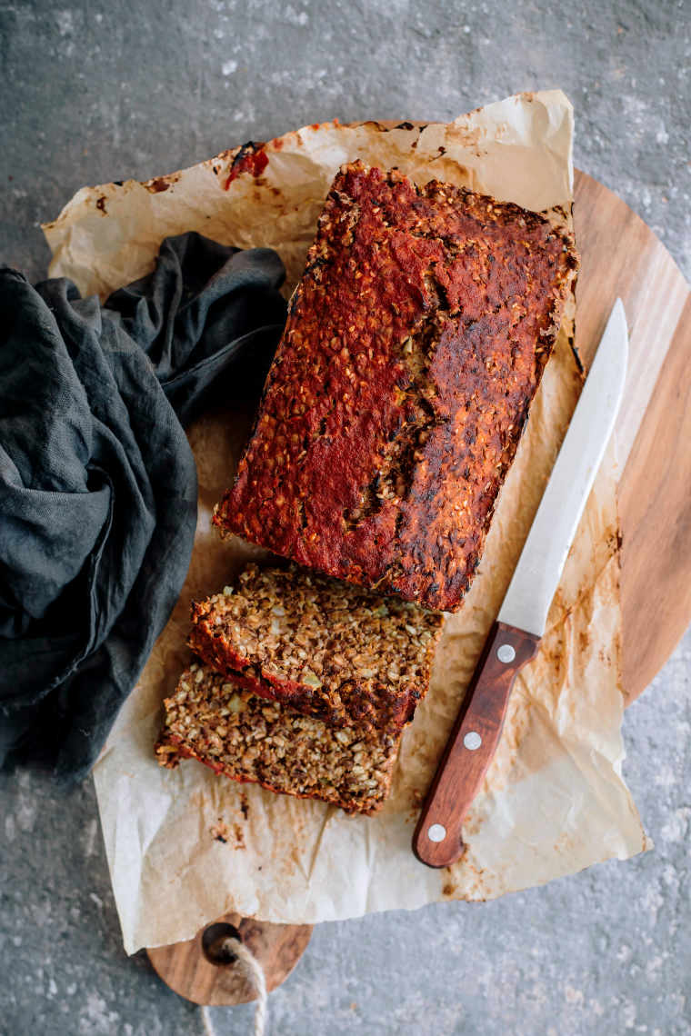 Vegan Meatloaf Ready to Eat