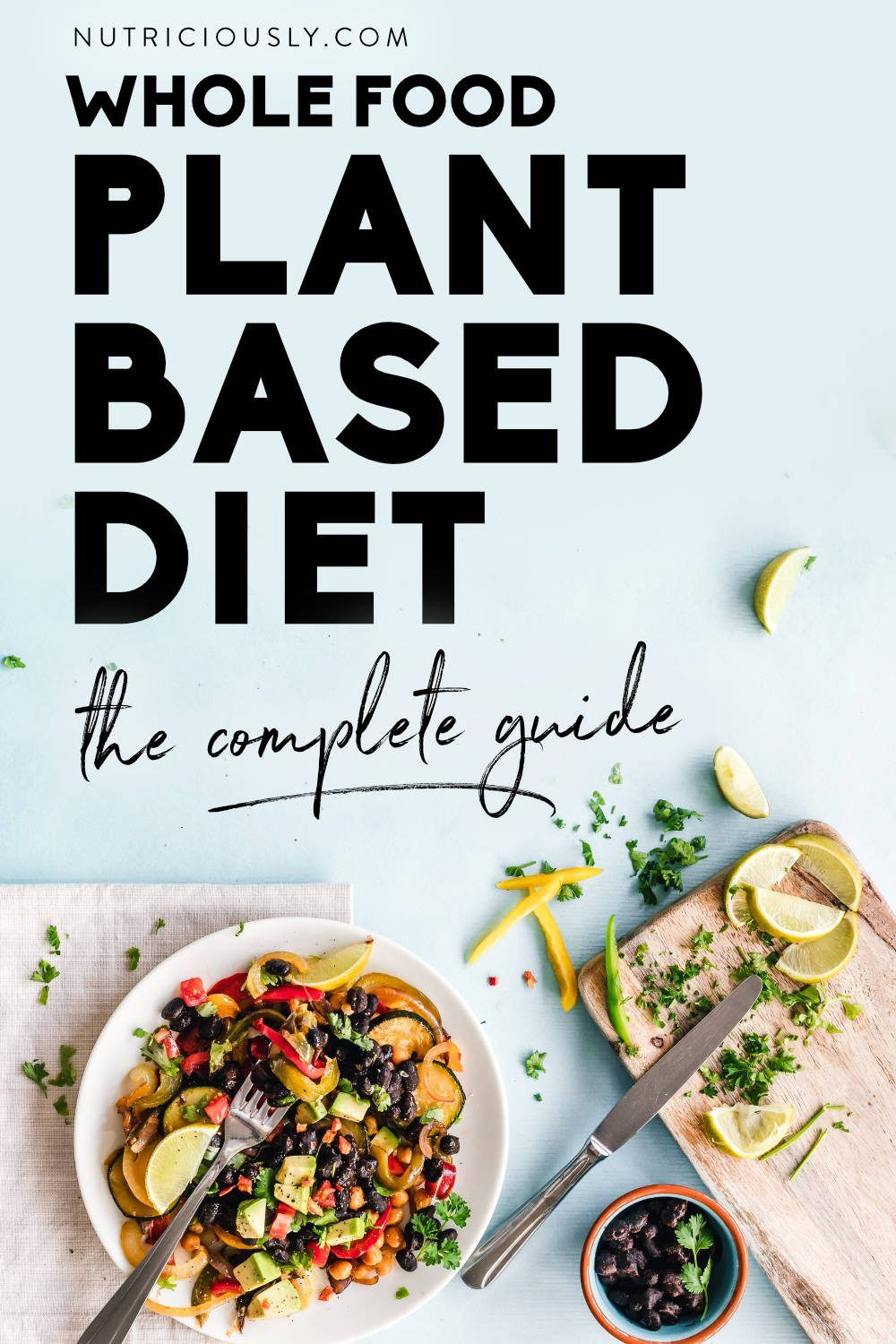 Whole Food Plant Based Diet Pin