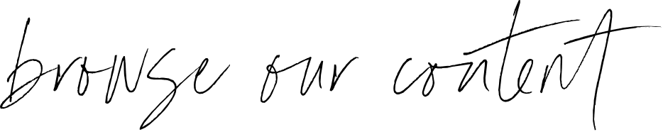 browse our content handwritten font