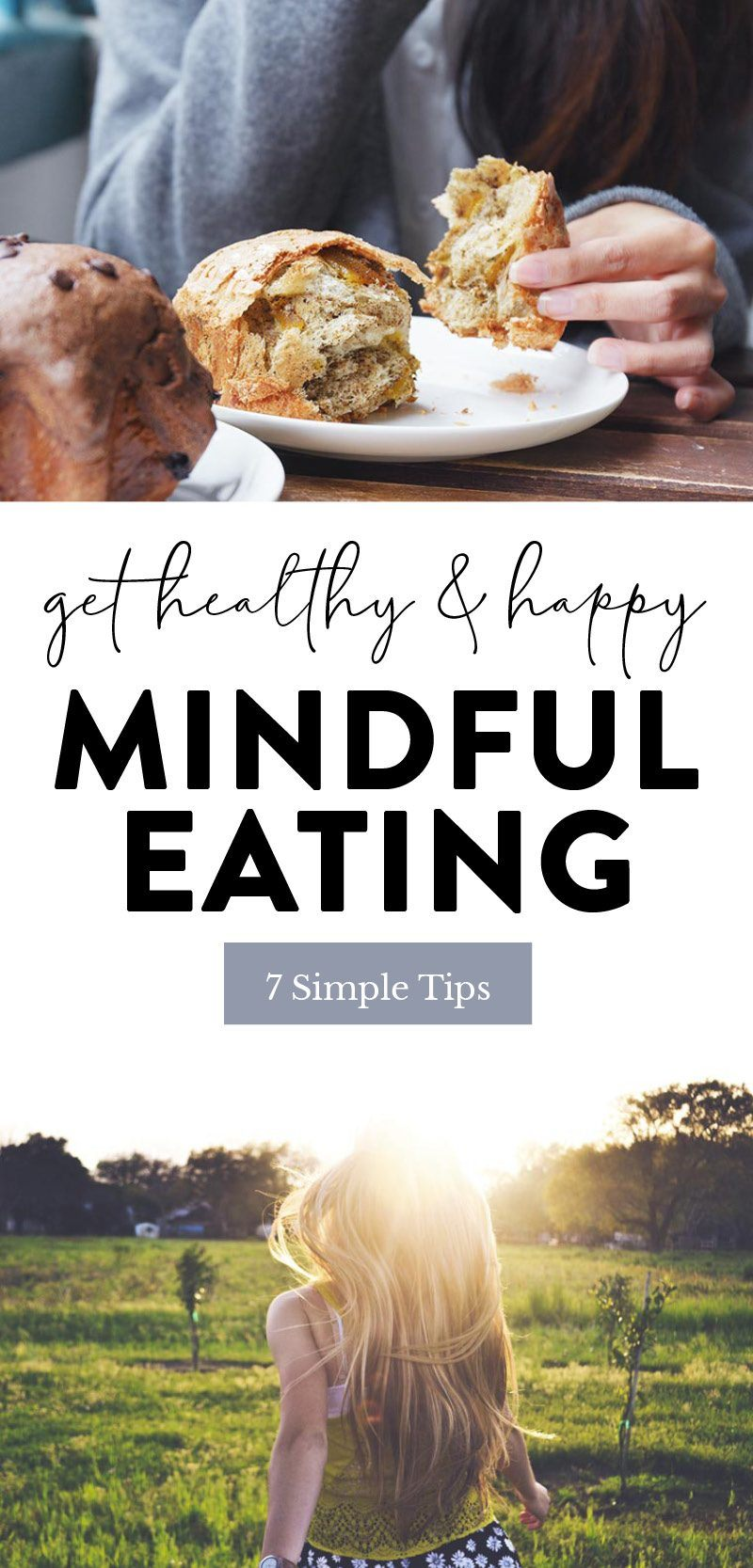 mindful eating pin