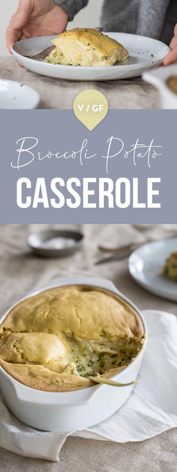 broccoli potato casserole pin